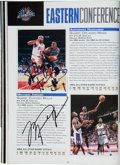 Autographs:Others, 1997 NBA All-Stars Multi-Signed Program....