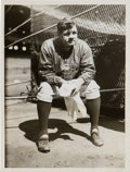 Baseball Collectibles:Photos, 1932 Babe Ruth Original News Photograph, PSA/DNA Type 1.. ...