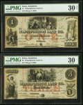 Obsoletes By State:Iowa, Anamosa, IA- Wapsipinicon Land Co. $1; $3 Mar. 4, 1858. ... (Total:2 notes)