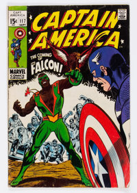 Captain America #117 (Marvel, 1969) Condition: GD/VG