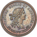 Patterns, 1869 10C Standard Silver Ten Cents, Judd-705, Pollock-784, Low R.7, PR64 Brown PCGS....