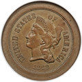 Patterns, 1868 5C Five Cents, Judd-627, Pollock-696, Low R.7, PR64 Brown NGC....