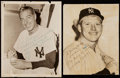 Autographs:Photos, Mickey Mantle and Joe DiMaggio Signed Vintage Photographs.. ...