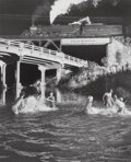 Photographs, O. Winston Link (American, 1914-2001). Hawksbill Creek Swimming Hole, Luray, Virginia, 1956. Gelatin silver, 1987. 19-1/...