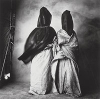 Irving Penn (American, 1917-2009) Guedras in the Wind, Morocco, 1971 Platinum-palladium, 1978 17-