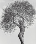 Photographs, Herb Ritts (American, 1952-2002). Neith with Tumbleweed, Paradise Cove, 1986. Gelatin silver. 18-1/2 x 15 inches (47.0 x...