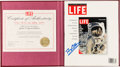 "Explorers:Space Exploration, Apollo 11: Buzz Aldrin Signed LIFE ""To the Moon and Back"" Collector's Edition Magazine in Presentation Slipcase, Originally fr..."