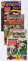 Silver Age (1956-1969):Superhero, Fantastic Four Group of 4 (Marvel, 1964-69) Condition: Average VG.... (Total: 4 Comic Books)
