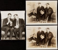 Baseball Collectibles:Photos, Babe Ruth Type IV Photograph Lot of 5 with Cy Young, Jack Dempsey, Miller Huggins, and Others.. ...