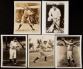 Baseball Collectibles:Photos, Babe Ruth Type IV Photograph lot of 6.. ...