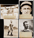 Baseball Collectibles:Photos, Baseball Greats Type IV Photograph Lot of 8 with Johnson, Young, Cobb, and Others.. ...