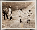 "Baseball Collectibles:Photos, Babe Ruth & Lou Gehrig Type IV Photograph Lot of 2, ""CalledShot"" Image.. ..."
