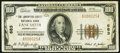 National Bank Notes:Pennsylvania, Lancaster, PA - $100 1929 Ty. 1 The Lancaster County NB Ch. # 683....