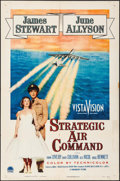 "Movie Posters:Drama, Strategic Air Command (Paramount, 1955). Folded, Overall: Fine/Very Fine. One Sheet (27"" X 41"") & Lobby Card Set of 8 (11"" X... (Total: 9 Items)"