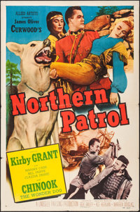 "Northern Patrol & Other Lot (Allied Artists, 1953). Folded, Overall: Fine+. One Sheets (3) (27"" X 41""). We..."
