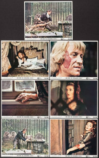 """And Now the Screaming Starts! (Cinerama Releasing, 1973). Mini Lobby Cards (7) (8"""" X 10"""") & Photos (9)..."""