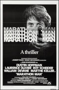 "Movie Posters:Thriller, Marathon Man (Paramount, 1976). One Sheet (27"" X 41"") & Mini Lobby Card Set of 8 (8"" X 10""). Thriller.. ... (Total: 9 Items)"
