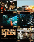 Movie Posters:Science Fiction, Return of the Jedi (20th Century Fox, R-1997). Special EditionDeluxe Jumbo Title Lobby Card, Special Edition Deluxe Jumbo L...(Total: 7 Items)
