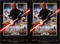 """Movie Posters:Science Fiction, Star Wars: Episode I - The Phantom Menace (20th Century Fox, 1999). Very Fine/Near Mint. Mini Posters (10) Identical (13.5"""" ... (Total: 10 Items)"""