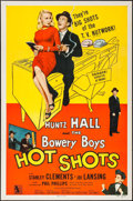 "Movie Posters:Comedy, Hot Shots (Allied Artists, 1956). Folded, Very Fine+. One Sheet(27"" X 41""). Comedy.. ..."