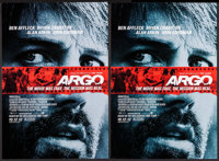"""Argo & Others Lot (Warner Brothers, 2012). Posters (5) (11.5"""" X 17"""") Advance. Drama. ... (Total: 5 Ite..."""