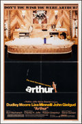 "Movie Posters:Comedy, Arthur (Warner Brothers, 1981). One Sheet (27"" X 41"") Style B. Comedy.. ..."
