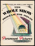 """Movie Posters:Miscellaneous, Paramount Exhibitor Book (Paramount, 1928-1929). Exhibitor Book (Multiple Pages, 9.25"""" X 12.25""""). Miscellaneous.. ..."""
