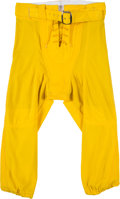 Football Collectibles:Others, Circa 1997 Michigan Wolverines Game Worn Pants Attributed to Charles Woodson....