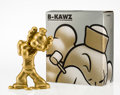 Fine Art - Sculpture, American:Contemporary (1950 to present), Necessaries Toy Foundation. B-KAWZ: Appropriating theAppropriator (Gold), 2010. Painted cast vinyl. 10-1/2 x 6-1/2 x3-...