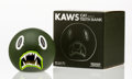 Collectible, KAWS (American, b. 1974). Cat Teeth Bank (Green), 2007. Painted cast vinyl. 5 x 5 x 5 inches (12.7 x 12.7 x 12.7 cm). Ed...