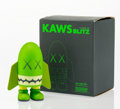 Fine Art - Sculpture, American:Contemporary (1950 to present), KAWS (American, b. 1974). Blitz (Green), 2004. Painted cast vinyl. 6 x 4-1/4 x 3-1/4 inches (15.2 x 10.8 x 8.3 cm). Edit...