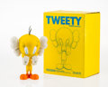 Fine Art - Sculpture, American:Contemporary (1950 to present), KAWS X Warner Brothers. Tweety Bird, 2010. Painted castvinyl. 10 x 6-1/2 x 3-1/2 inches (25.4 x 16.5 x 8.9 cm). Stamped...