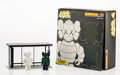 Fine Art - Sculpture, American:Contemporary (1950 to present), KAWS X Kubrick. Bus Stop, Series 4, 2002. Painted castresin. 8-1/4 x 8-1/4 x 3 inches (21 x 21 x 7.6 cm) (box). Eachst...