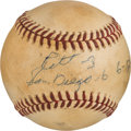Baseball Collectibles:Balls, 1979 Gaylord Perry Game Used Baseball From Win #256....