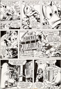 Original Comic Art:Panel Pages, Gene Colan and Steve Leialoha Howard the Duck #5 Story Page10 Original Art (Marvel, 1976)....