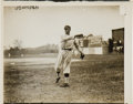 Baseball Collectibles:Photos, Circa 1910 Walter Johnson Original News Photograph by Bain, PSA/DNAType 1.. ...