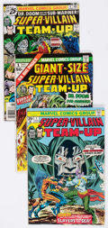 Bronze Age (1970-1979):Superhero, Super-Villain Team-Up and Giant-Size Super-Villain Team-Up - Full Runs Group of 19 (Marvel, 1970s) Condition: Average VG.... (Total: 19 Comic Books)