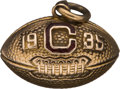 Football Collectibles:Others, 1935 South Carolina Gamecocks Gold Pendant Presented to Wilburn Clary....