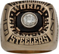 Football Collectibles:Others, 1974 Pittsburgh Steelers Super Bowl IX Championship Ring Presented to Safety Jimmy Allen.. ...