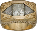 Boxing Collectibles:Memorabilia, 1995 Riddick Bowe Heavyweight Championship Ring Presented by His Manager Rock Newman.. ...