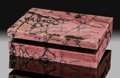 Lapidary Art:Boxes, Rhodonite Box. Stone Source: Urals Region. Russia....