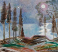 Fine Art - Painting, American, Marguerite Thompson Zorach (American, 1887-1968). Mists,1965. Oil on canvas. 14 x 16 inches (35.6 x 40.6 cm). Signed an...