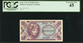 Military Payment Certificates:Series 641, Series 641 5¢ Replacement PCGS Extremely Fine 45.. ...