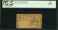 Colonial Notes:New York, New York April 15, 1758 £10 PCGS Fine 15.. ...