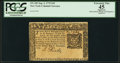 Colonial Notes:New York, New York September 2, 1775 $10 PCGS Apparent Extremely Fine 45.. ...