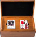 "Basketball Cards:Lots, 1999-2000 Upper Deck Michael Jordan ""The Master Collection"" LimitedEdition Boxed Set - #105/500.. ..."