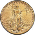 Saint-Gaudens Double Eagles, 1908-S $20 AU50 PCGS Secure....