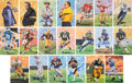 Football Collectibles:Others, 1990-2008 Football Hall of Famers Signed Goal Line Art Cards Lot of 149.. ...