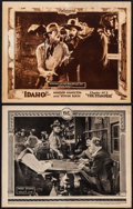 """Movie Posters:Western, Billy Jim & Other Lot (Robertson-Cole, 1922). Folded, Fine/VeryFine. Lobby Cards (2) (11"""" X 14""""). Western.. ... (T..."""