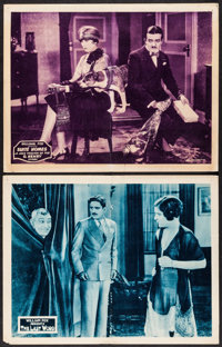 """The Last Word & Other Lot (Fox, 1927). Lobby Cards (2) (11"""" X 14""""). Comedy. ... (Total: 2 Items)"""